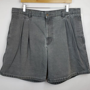 Dockers Mens Shorts Sz 40 Distressed Pleat Front